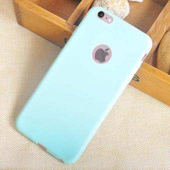 Harga Macaroon Case With Hole at Logo Apple iPhone 6 Plus