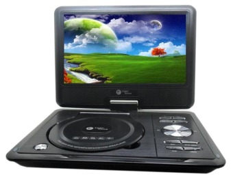 Harga Tori DVD Player Portable TPD-909 - Hitam