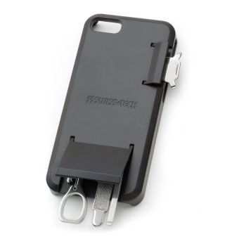 Harga Swiss+Tech Mobile-Tech Black Smartphone Tool Case for iPhone 5