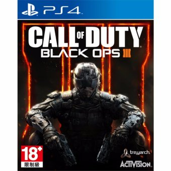 Harga Sony PS4 Games Call of Duty Black Ops III