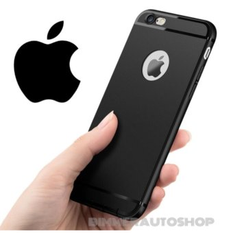 Harga Slim Silicone Iphone 5/5s/5SE Anti Dust Casing Softcase TPU Case Karet - HITAM