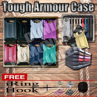 Harga Elegant Case Iron Tough Armour Samsung Z2 Tizen - Grey + Gratis Iring + Hook