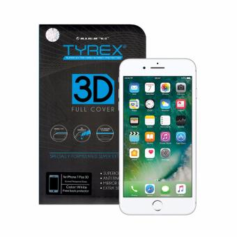 Tyrex 3D Full Cover Tempered Glass for iPhone 7 Plus White .