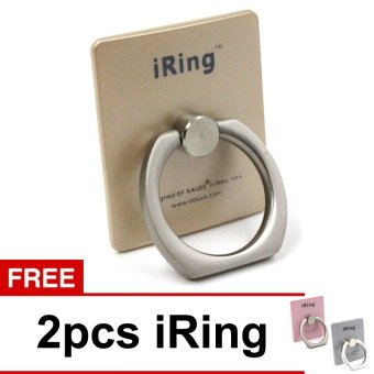 Harga iRing Mobile Phone Standing Holder + 2 Pcs iRing Mobile Phone