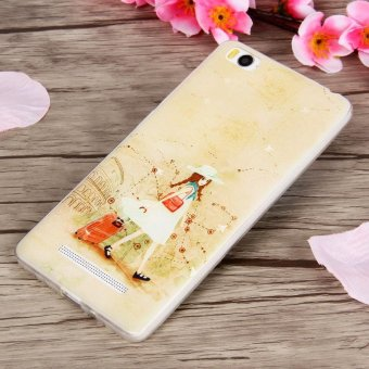 Harga 3D Relief TPU Soft Phone Case for Xiaomi Mi 4c/Xiaomi Mi 4i (Multicolor) - intl