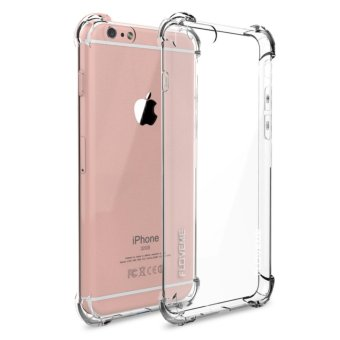 Harga Case Anticrack Case / Anti Crack Case / Anti Shock Case for iPhone 4 / 4S - Fuze / Fyber - Clear