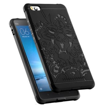 Harga Case For Xiaomi Mi 4i / Xiaomi Mi 4c Dragon Shockproof Hybrid Series - Hitam