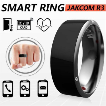 Harga Smart Timer Ring Jakcom R3 Dust-Proof/fall-Proof for NFC Electronics Phone Android Smartphone Wearable Magic Rings(Size:8) - intl