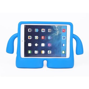 Harga Welink Apple iPad 2/3/4 EVA Case / Safety EVA Light Weight Shockproof Super Protection Kids Convertible Freestanding Handle Tablet Case Kiddie Funny Cases for Apple Ipad 2/3/4 (Blue)