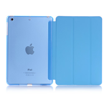 Harga Welink Ultra Slim Smart Cover PU Leather Case for Apple iPad Mini 4 (Blue)