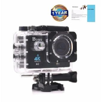 Harga Bcare Action Camera - B-Cam X-3 -WiFi -Sony Sensor- 16MP - 2inch - Ultra HD 4K LED- Hitam