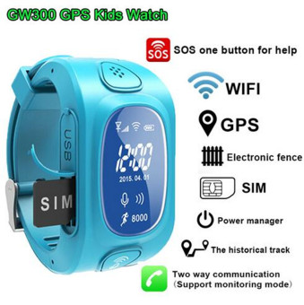 Harga Y3 GPS smartwatch Support SIM card for Android & IOS Y3 Smart kids Watch GPS Tracker Watch Children Watch (Blue)