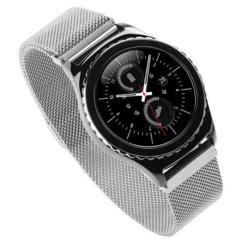 Harga Milanese Loop Strap Stainless Steel Watch Band for Samsung Gear S2 Classic SM-R732 (Silver) - Intl