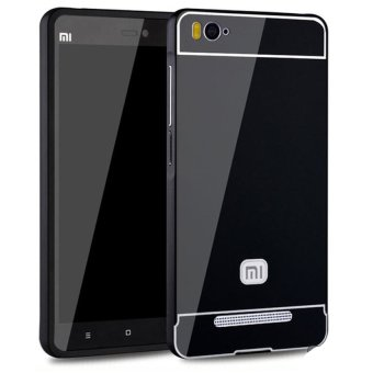 Harga Casing Aluminium Bumper Mirror for Xiaomi Mi 4i / 4c - Black