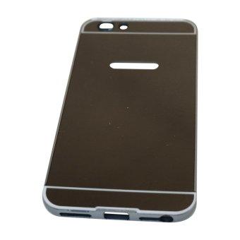 Case For Oppo F1S A59 Alumunium Bumper With Sliding Mirror - Hitam