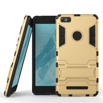 Harga ProCase Shield Armor PC+TPU Back Covers for Xiaomi Mi 4C / Mi 4I - Gold