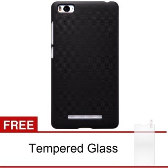 Harga Hardcase Xiaomi Mi 4i - Hitam + Gratis Tempered Glass Screen Protector