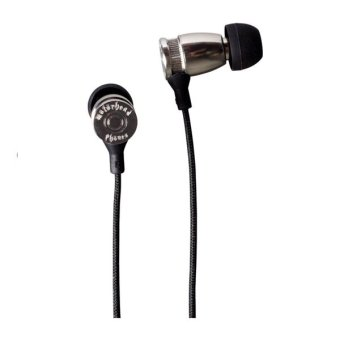 Harga Motorheadphones Earphone Overkill With Mic - Silver