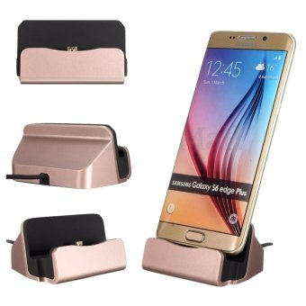 Harga Micro USB Sync Data Charger Dock Charging Cradle Stand Station Untuk Android Smartphone