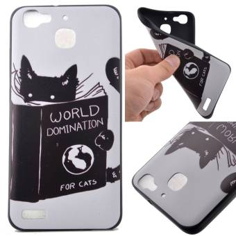 Harga TPU Silicone Case Cover for Huawei G8 Mini / Enjoy 5S / GR3 (Cat) - intl