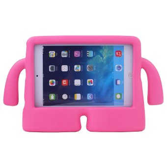 Harga Welink Apple iPad 2/3/4 EVA Case / Safety EVA Light Weight Shockproof Super Protection Kids Convertible Freestanding Handle Tablet Case Cover Kiddie Funny Cases for Apple Ipad 2/3/4 (Magenta)