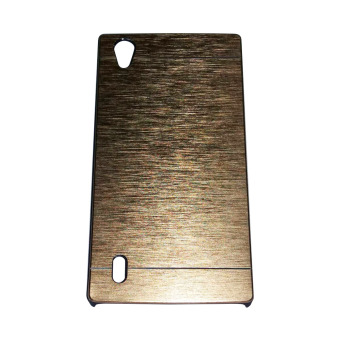 Harga Motomo Metal Case for Vivo Y15- Gold