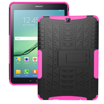 Harga TPU Tough Hard Case Cover for Samsung GALAXY Tab S2 T710 GALAXY Tab S2 8 inch SM-T710 (Pink) - Intl