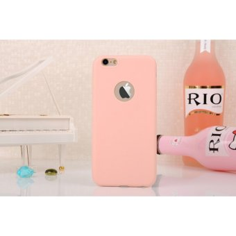 Harga Lize Apple Iphone6 / Iphone 6 plus / Iphone 6G plus / Iphone 6S plus Ori / Iphone 6+ Ukuran 5.5 inch Softshell / Jelly Case / Soft Case / Soft Back Case / Silicone / Silicon / Silikon / Case Iphone / Case HP / Casing Handphone Iphone 6+ - Peach