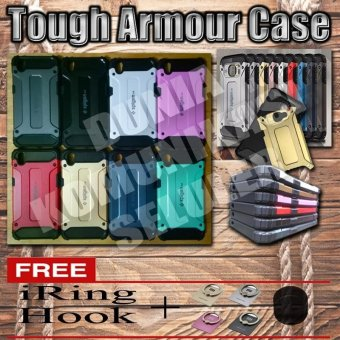 Harga Elegant Case Iron Tough Armour Oppo A37 / Neo 9 - Hitam + Gratis Iring + Hook