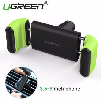 Harga UGREEN Universal Smartphones Mobile Phone Adjustable Car Air Vent Mount Holder Cradle for iPhone 7 7 Plus SE 6s 6 Plus 6 5s - Green - intl