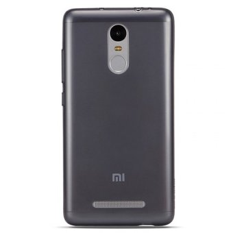 Harga Original Ultra Thin Case for Iphone Redmi Note 3 / Redmi Note 3 Pro- Hitam Transparant