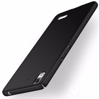 Harga Ultra-thin Hard Hybrid PC Protective Back Cover Case For Oppo R7 (Black) - intl