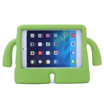 Harga Welink Apple iPad 2/3/4 EVA Case / Safety EVA Light Weight Shockproof Super Protection Kids Convertible Freestanding Handle Tablet Case Cover Kiddie Funny Cases for Apple Ipad 2/3/4 (Green)