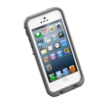 Waterproof Casing Handphone Protective Case Cover Swimming Underwater for Apple iPhone 5/ 5s - Putih