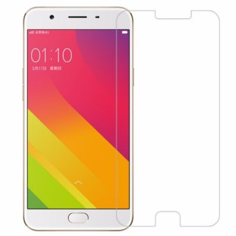 Vn Tempered Glass 9H for Oppo F1s / A59 2D Round Curved Edge Screen Protector Film