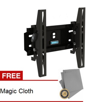 "Harga Bervin Bracket LED/LCD 22""- 39"" - Hitam + Gratis Magic Cloth"