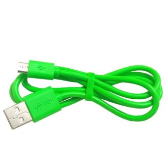 Vivan USB Charging Cable CBM80 - Hijau