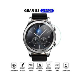 Harga Screen Protector Samsung Smart Wacth Gear S3 Tempered Glass Clear