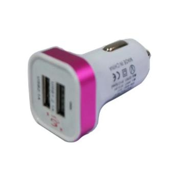 Harga Car Charge/Charger Mobil USB 2in1 Output 5V-2.1 A