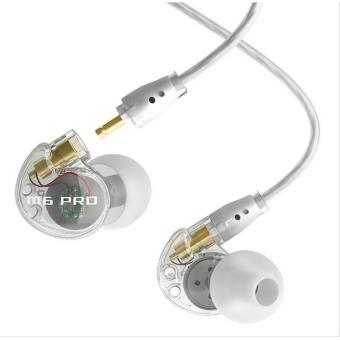 Harga MEE audio M6 PRO Universal-Fit Noise-Isolating Musician's In-Ear Monitors with Detachable Cables(clear) - intl
