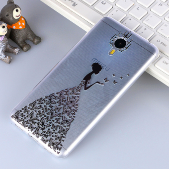 3D Relif TPU Soft Case for Meizu M3 Note Multicolor intl .