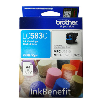 Harga Brother Cartridge LC583 - Cyan