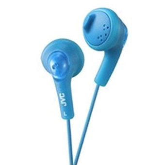 Harga JVC Headphone Gummy HA-F160 - Biru