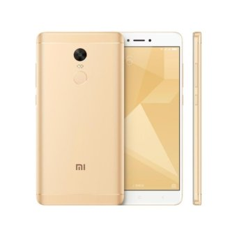 Harga Xiaomi Redmi Note 4X 4GB - 64GB Gold