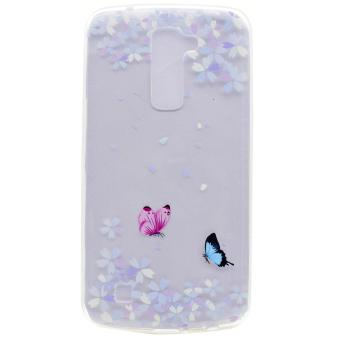Harga LG K7 / K8 Case, Ultra Thin Soft TPU Gel Silicone Back Case Cover for LG K7 / K8 (Design-10) - intl