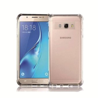 Harga Case Anticrack Case / Anti Crack Case / Anti Shock Case for Samsung Galaxy J5 - Fuze / Fyber - Clear