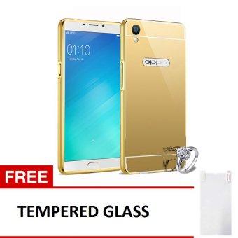 Update Harga Case Oppo F1S Bumper Mirror Slide Gold Free Source Harga Case .