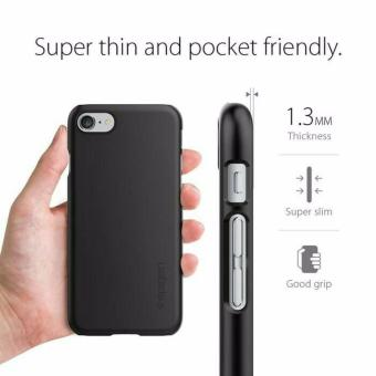 Harga Spigen Thin Fit iPhone 7 - Black