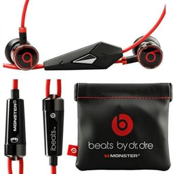 Harga GPL/ Monster Beats By Dr Dre Ibeats in Ear Headphones Earphones Black - (Supplied with no retail packaging)/ship from USA - intl