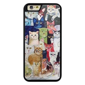 Phone case for iPhone 6/6s 009 60 cats cover for Apple iPhone 6 / 6s - intl